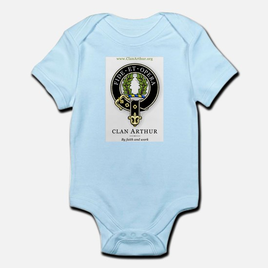Clan Arthur Infant Bodysuit