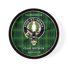Clan Arthur Wall Clock