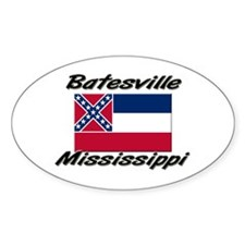 Batesville Mississippi Oval Decal