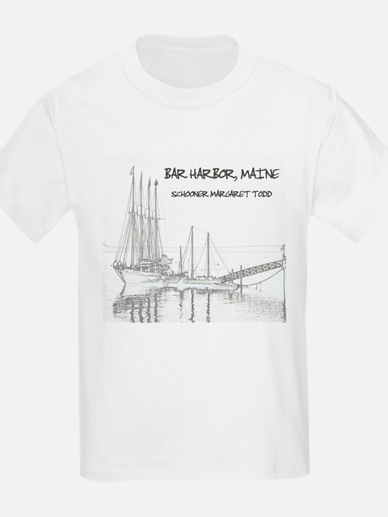 Bar Harbor Schooner T-Shirt