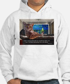 Most Interesting Cat Hoodie