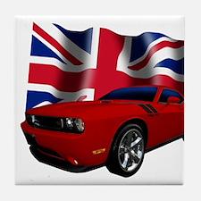 Challenger UK Tile Coaster