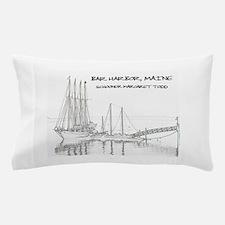 Bar Harbor Schooner Pillow Case