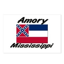 Amory Mississippi Postcards (Package of 8)