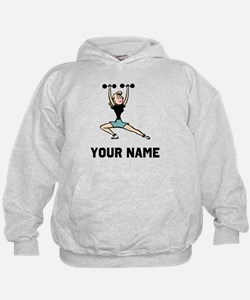 Woman Weightlifting Hoodie