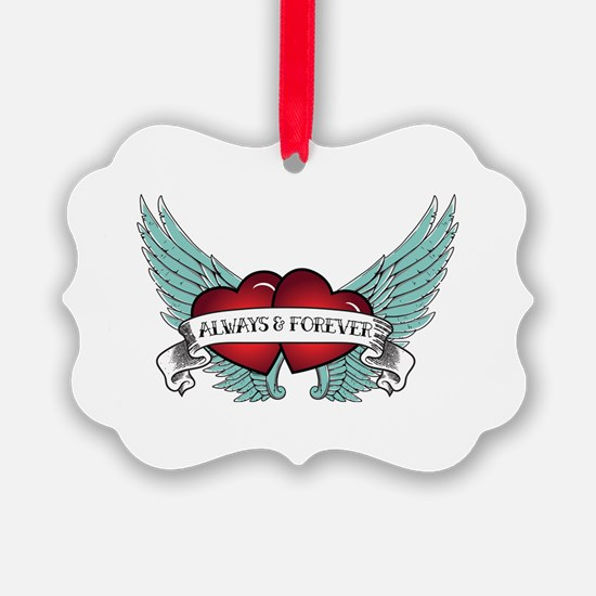 Always And Forever Rockabilly Ornament