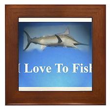 fish 5 Framed Tile