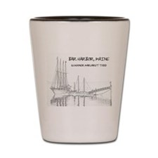 Bar Harbor Schooner Shot Glass