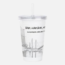 Bar Harbor Schooner Acrylic Double-wall Tumbler
