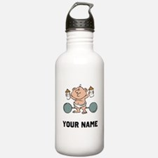 Weightlifter Baby Sports Water Bottle