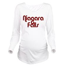 Falls Long Sleeve Maternity T-Shirt