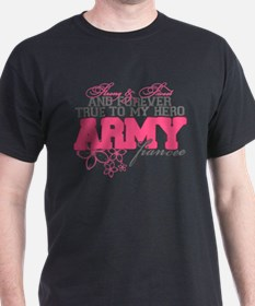 Unique My wife is a soldier T-Shirt