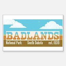 Badlands National Park Sky Decal