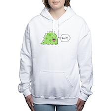 Cute Rawr Women's Hooded Sweatshirt
