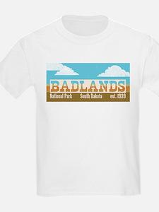 Badlands National Park Sky T-Shirt