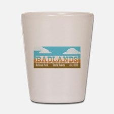 Badlands National Park Sky Shot Glass