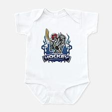 Fantasy Hockey Player Infant Bodysuit