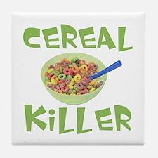 Cereal Killer Tile Coaster