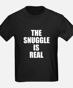 The Snuggle is Real funny baby T-Shirt