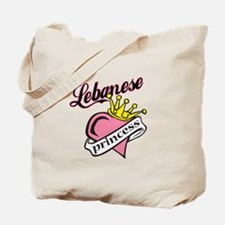 Lebanese Princess Tote Bag