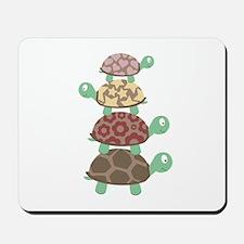 Turtle family Mousepad
