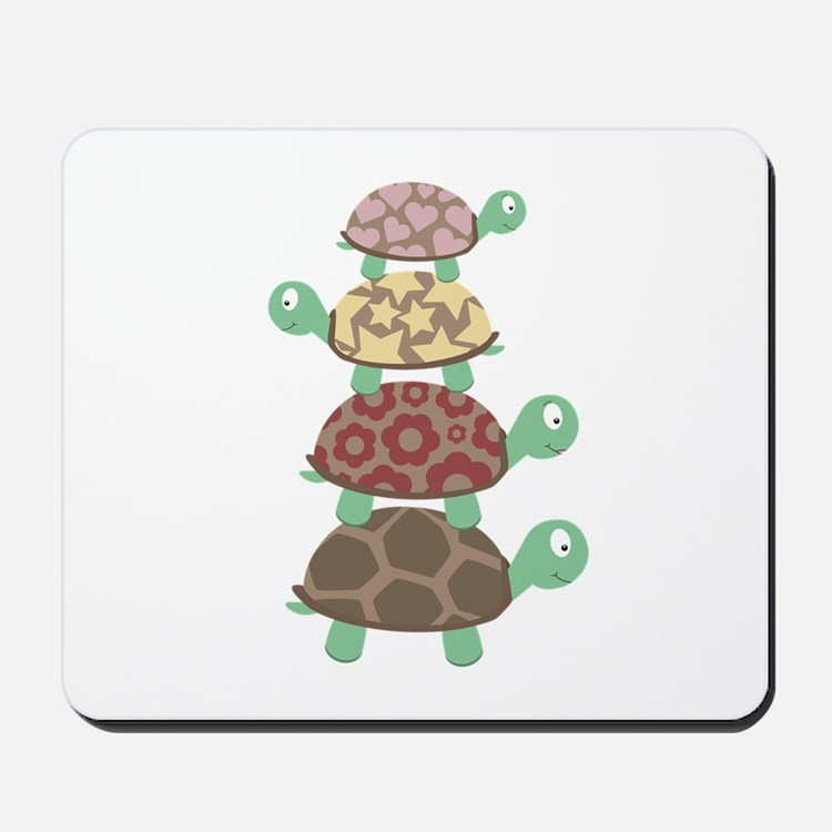 Turtle family Mousepad