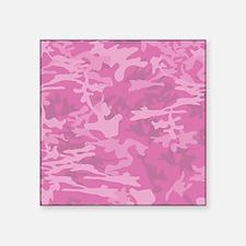 Pink Camo Pattern Sticker