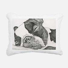 boston graphite.jpg Rectangular Canvas Pillow