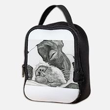 boston graphite.jpg Neoprene Lunch Bag