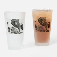 boston graphite.jpg Drinking Glass