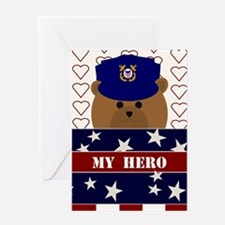 Send Your Love To Uscg Active Duty Greeting Cards
