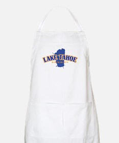Lake Tahoe with map coordinates Apron