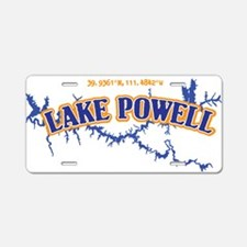 Lake Powell Aluminum License Plate