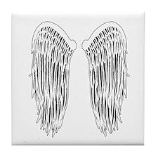 Wings (Lighter) Tile Coaster