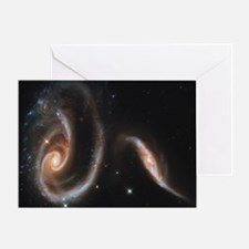 Cute Hubble Greeting Card