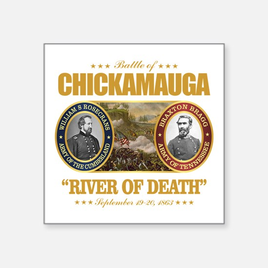"""Chickamauga (FH2) Square Sticker 3"""" x 3"""""""