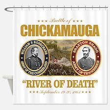 Chickamauga (battle) Shower Curtain