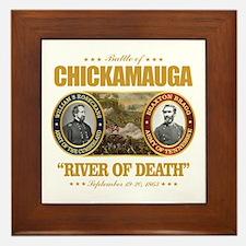 Chickamauga (battle) Framed Tile
