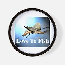 fish 7 Wall Clock