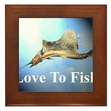 fish 7 Framed Tile