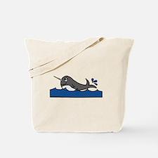 Narwhal Splash Tote Bag