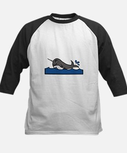 Narwhal Splash Baseball Jersey
