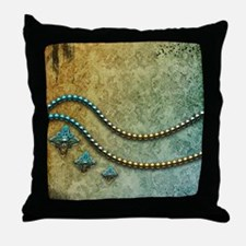 Elegant vintage Throw Pillow