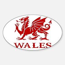 cymru wales welsh cardiff dragon Decal
