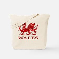 cymru wales welsh cardiff dragon Tote Bag