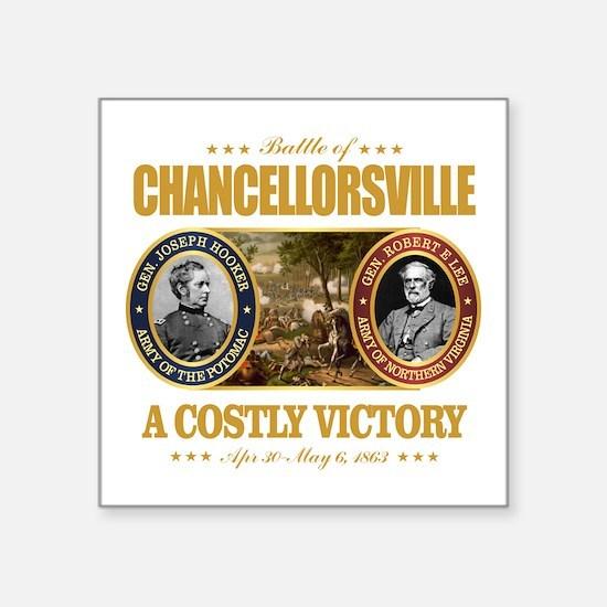 """Chancellorsville (FH2) Square Sticker 3"""" x 3"""""""