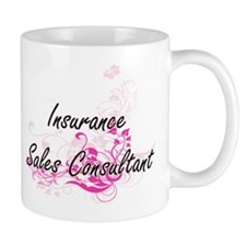 Insurance Sales Consultant Artistic Job Desig Mugs