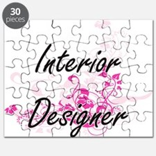 Interior Designer Artistic Job Design with Puzzle