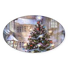 Vintage Christmas Decal