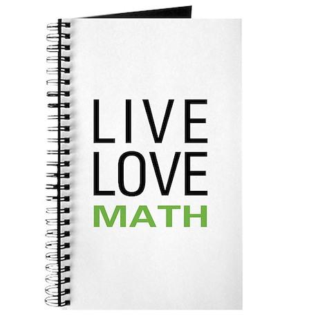 Live Love Math Journal